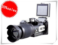 Wholesale HD9100T HD9100 P HD camera DIGITAL VIDEO CAMCORDER DV support MP3 MP4 played peaker newest