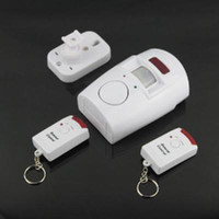 Wholesale Home Motion Sensor dB Alarm with Remote Control