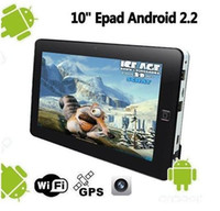 Wholesale 10 inch Flytouch GB Epad X220 Tablet PC Android Wifi G GPS Webcam Supperpad
