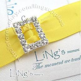 quanlity guarantee!Lowest price!100pcs 10mm Rectangle A-Grade Rhinestone Buckle Ribbon Slider