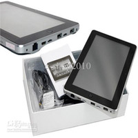 Wholesale 10 quot FlyTouch Superpad Android X220 GPS G HDMI GB tf card keyboard case car holder sleeve