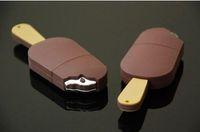Wholesale U disk USB G new ice cream chocolate ice cream creative U disk