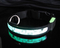 Wholesale Pet LED collars pet supplies hot selling dog LED collars