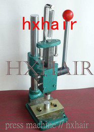 Press Machine for Pre-Bonded Hair   Fusion Pre-Tip Press Machine   Extension Hair Tools   Sample