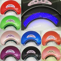 Wholesale 2011 New Arrival Brand W Nail Art LED UV Gel Curing Lamp for LED UV gel polish Professional Salon
