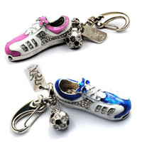 Wholesale Crystal Shoe shpae USB Flash Drive Pen Drive Memory stick Keychain GB GB GB GB GB gift box