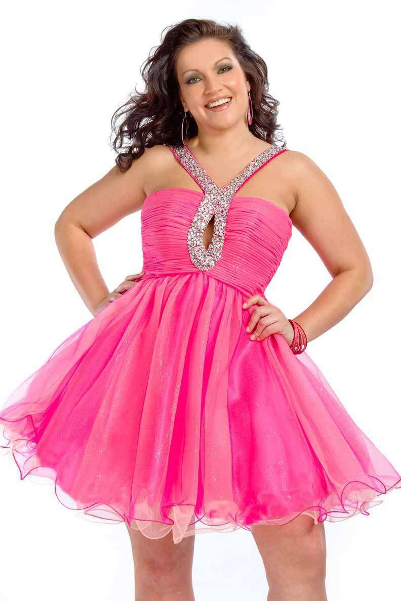 Hot Pink Party Dresses