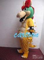 Wholesale Super Mario Bros King Bowser Mascot Costume Adult Size