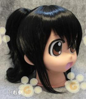 Wholesale New Arrival Short Black Clip on Ponytail Halloween Cosplay Party Hair Full wig G19