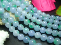 Wholesale 6MM Violet Jade Round Loose Beads quot JR06015