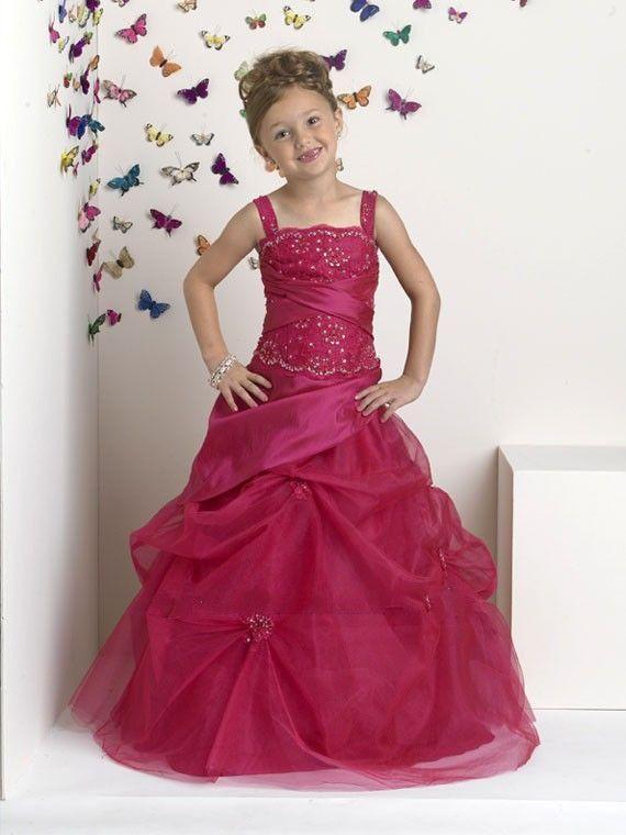 Strappy halter girl dress 2015 prevalent princess pleats girl dress