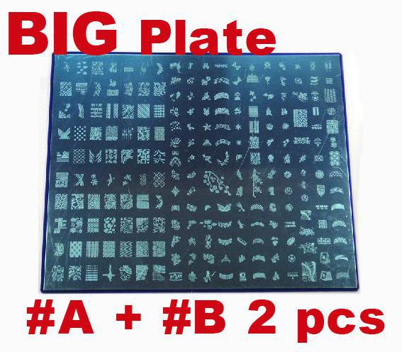 Large nail art stamping stamp image plate stamping nail art large nail art stamping stamp image plate stamping nail art image plates stamp image nail art stamping online with 3498set on naisias store prinsesfo Choice Image