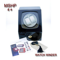 Wholesale Lux Watch Automatic Watch Winder Self Winding Wooden Box Lady Women s Mens Men s Watches Color KG