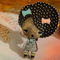 none Women's Party Cute vintage vivid BABY lady charming brooch chest pin Fascinated quaint women chic brooches!!