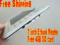 Wholesale white colour inch TFT screen Ebook reader digital player ebook with MP3 MP4 Player