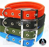 Wholesale 10PCS Neck Protection Dog Pets Collar Dog Rope Pet Necklace Safe Leather Collar Pet Belt