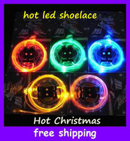 Wholesale HOT Christmas Party products Original Platube Led Shoelaces LIGHT UP Shoelace GLOW STICK piece