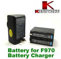 Wholesale Rechargeable Lithium Battery mAh Charger For NP F550 NP F750 NP F960 NP F970 F960 F970