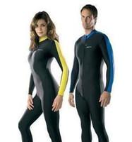 Men swimwear - Diving suit Swimming full bodysuit Swimsuit Swimwear Blueocean