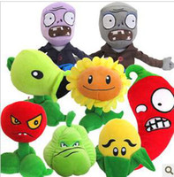 Wholesale Plush Toys Plants vs Zombies PVZ Soft Toy cm hot selling toy one set design