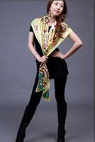 Wholesale Hot female models vintage winter scarf large square scarf shawl dfdf