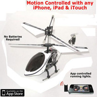 Wholesale IPHONE IPAD ITOUCH RC I HELICOPTER CH WITH GYRO NEW