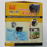 Wholesale Brand New High Quality W L H Fish Tank Aquarium Hanging Waterfall Filter HBL