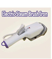 Wholesale W NEW electric steam iron brush For Cleaning Drying cloth