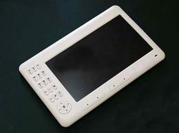 Wholesale HD inch Anti glare colored E book reader E reader P video player Built in GB