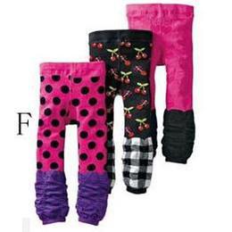 NISSEN baby pants kids' leggings many colors children's trouses girls' tights babies pant FF09