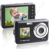 Wholesale 3 quot MP CMOS X Digital Zoom DC Digital Camera Webcam with Dual Display amp Self Shooting Function