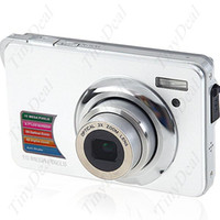 Wholesale 2 quot MP CMOS X Optical amp X Digital Zoom DC Digital Camera with SD Slot