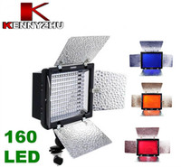 Wholesale YONGNUO Pro LED Video Light YN LED Lamps For DSLR Camera DV Camcorder With Filters