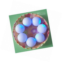 Wholesale High Quality Cute Flashing Golf Ball LED Golf Balls For Valentine s Day DHL UPS EMS SH