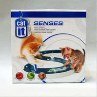 Wholesale Peipei1216 s Store Best Seller Hagen Catit Combined Wisdom Track Ball Toy Cat