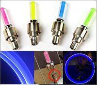 Wholesale flash fire flys led tyre light LED Flash Tyre Wheel Valve Cap Light for Car Bike Motorbicycle Wheel