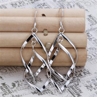 Wholesale Retail lowest price silver Earrings E142