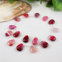 Wholesale Elegant jewelry A size x20MM Length inch pink agate woman s jewelry A2022