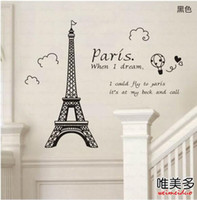 Wholesale Eiffel Tower Wall Decor - Buy Cheap Eiffel Tower Wall ...