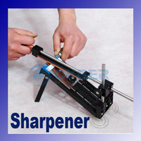 Wholesale New Professional Kitchen Knife Sharpener Tools System fix angle sharpen Cutlery