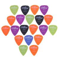 Nylon free shipping - Hot sale Alice x mm Smooth Nylon Guitar Picks Plectrums I27