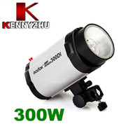 Wholesale Mini Studio Strobe Flash Light Lighting W GN56 With Buzz Function Adjustable ws Modelling Lamp