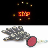Wholesale Car Warning Stop Sign with Multicolor LED Flash Light