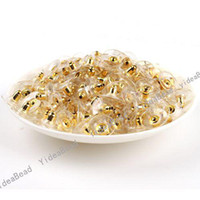 Wholesale 300pcs Clear Plastic Back Earring Stoppers Findings