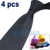 Wholesale 2012 Hot Sale New Fashion Men s Solid Color Plain Silk Jacquard Woven Tie Necktie