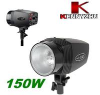 Wholesale Photo Studio Mini Strobe Flash Light K150A W GN Stepless Power Control For Fashion Shooting