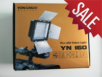 Wholesale Camera flash LED flash Yongnuo YN LED yn160 Video Light shipping