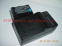 Wholesale Sample mAh V NP FV70 For SONY FV70 Camcorder Battery And Charger NP FV70 Set