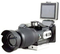 Wholesale NEW HD9100 digital camera MP HD X ZOOM with Remote control telephoto lens Wide angle lens Hot