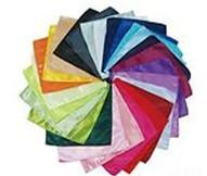 Wholesale Mens Plain Satin Hanky Wedding Party Suit Handkerchief